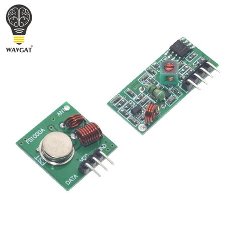 smart electronics 315mhz rf transmitter and receiver module link kit for arduino arm mcu wl diy