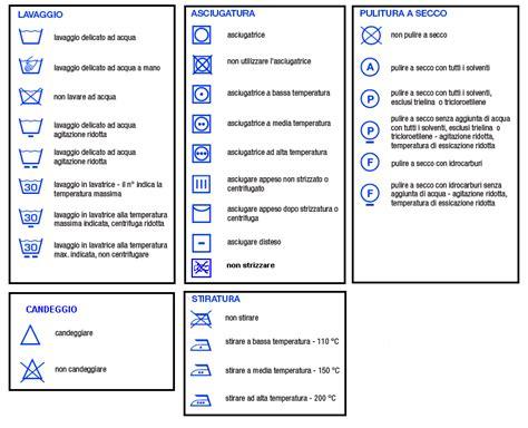 Simboli Capi Da Lavare by Il Significato Dei Simboli Scritti Sulle Etichette Dei