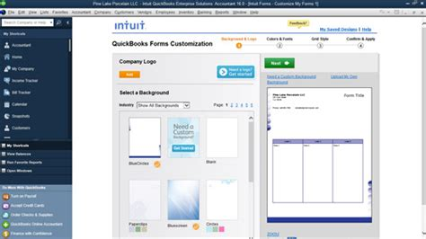 Quickbooks Credit Application Template How To Customize Your Invoices And Credit Memos In Quickbooks 2016 Dummies