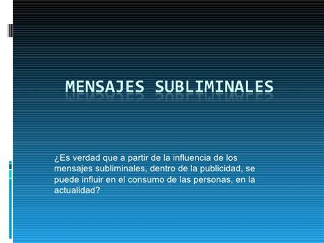 Mensajes Subliminales Seduccion | presentacion fer2