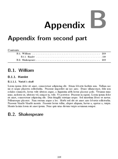 layout of appendices in a report can a chapter style environment be used for appendix