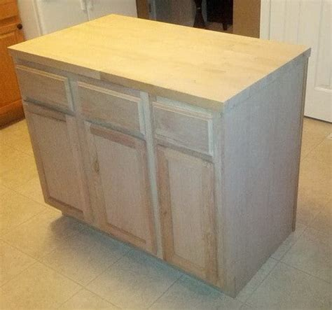kitchen island installation how to make a diy kitchen island and install in your
