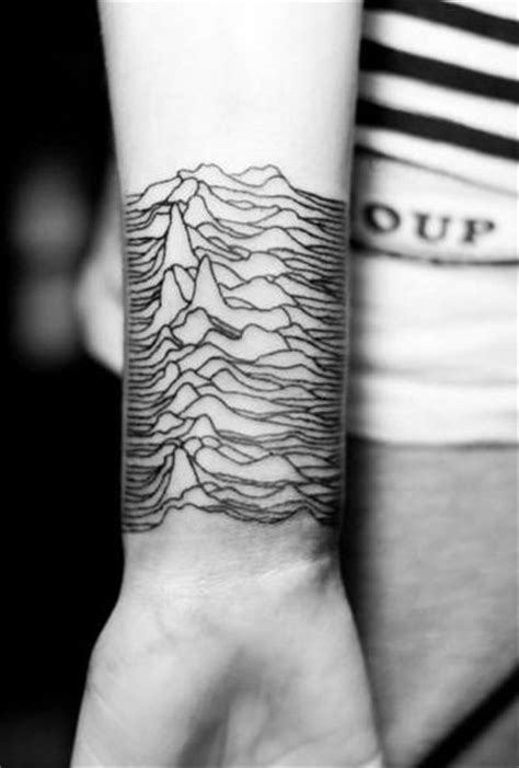 mountain wrist tattoo 75 line tattoos for minimal designs with bold statements