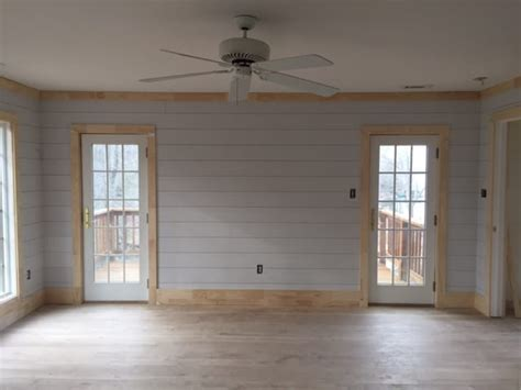 Shiplap Siding Interior Walls by Lake House Update