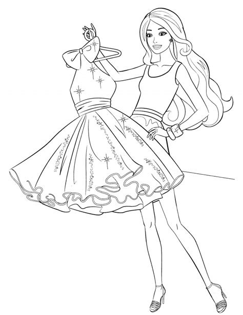 fashion model coloring pages az coloring pages