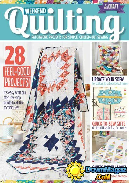 weekend quilting 2016 187 pdf magazines magazines