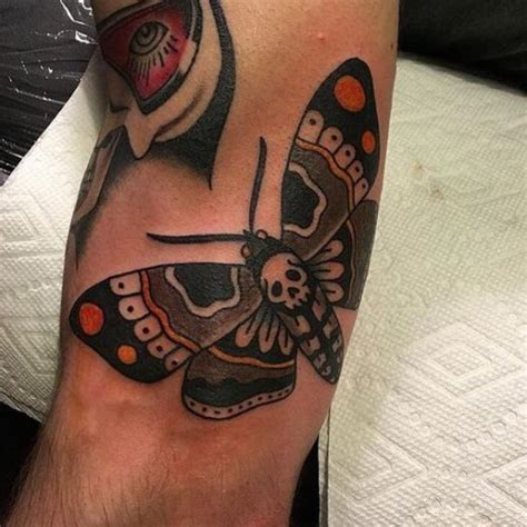 death moth tattoo meaning moth meaning