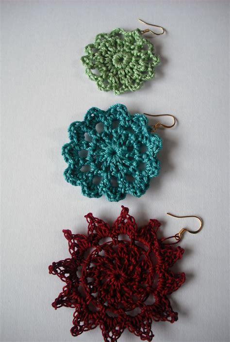 pattern crochet earrings crochet earring pattern free patterns for crochet