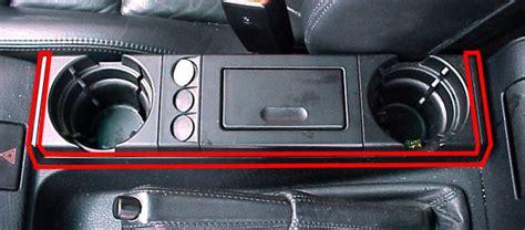 Bmw Interior Parts Catalog by Center Console Accessory Frame 51168217479 Genuine Bmw