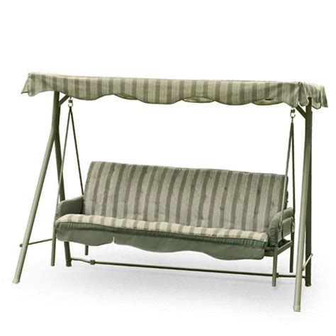 replacement patio swing cushions and canopy 3 seat canopy swing replacement cushions home and garden