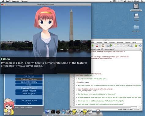 program untuk membuat visual novel membuat visual novel mudah dan keren dengan ren py