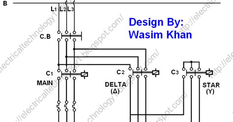 electrical technology the delta y δ 3 phase motor