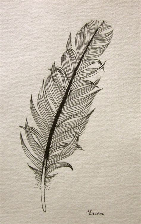 feather tattoo how to draw another messy black feather original ink drawing by anne4bags