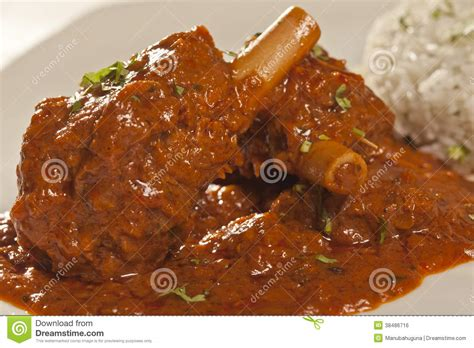 mutton curry from india stock photo image of coriander