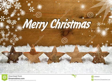 snow christmas wooden background stock image image