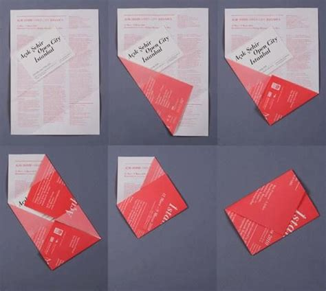 An Envelope From Paper - origami envelope origami