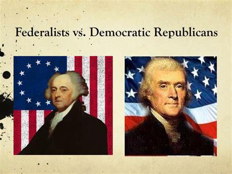 Democratic Vs Republican Essay by Federalist Vs Democratic Republican Essay Illustrationessays Web Fc2
