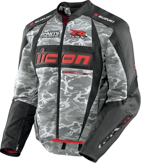 textile motorcycle jacket icon arc suzuki textile motorcycle jacket camo