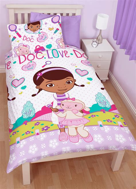 doc mcstuffins bedding set doc mcstuffins hugs single duvet quilt cover pillow case
