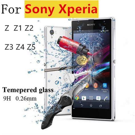 Sony Z5 Premium Explosion Proof Tempered Glass Screen Guard ᗖpremium 0 26mm 9h 9h tempered glass explosion