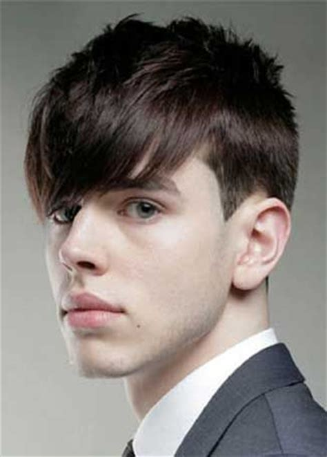 short hairstyles with fringe sideburns men s cut classic taper with textured crown disconnected