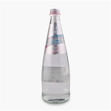 New Home Essentials San Benedetto Mineral Water Glass Bottle 750ml