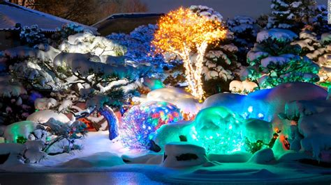 Botanic Gardens Denver Lights Best Places To See Lights In The U S Cnn