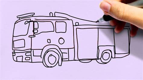 Autos Leicht Malen by Feuerwehrauto Zeichnen In 60s Zeichnen Lernen F 252 R