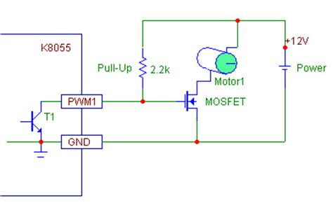 mosfet pull resistor calculator vm110 to transistors pc related projects velleman projects