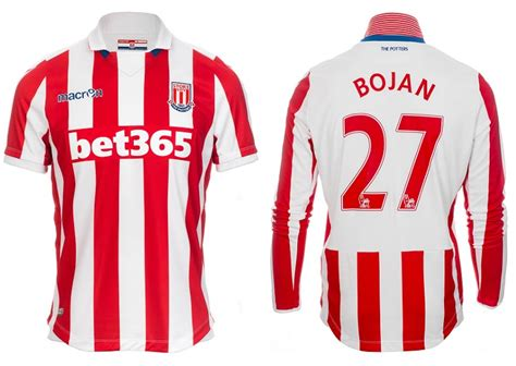 Stoke City Home 1516 Official stoke city release new 2016 17 home kit