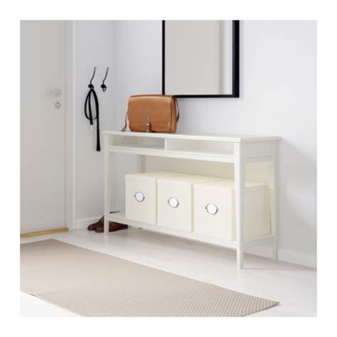 Liatorp Console Table White Glass 133x37 Cm Ikea Sofa Table Ikea