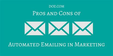 Pros And Cons Of Mba Degree by Pros And Cons Of Automated Emailing In Marketing Doz