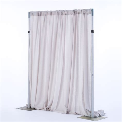 pipe drape rental 10 quot wide pipe drape rental encore events rentals