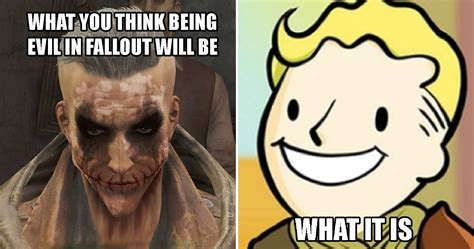 Fallout Meme - pointless choices in fallout 4 that didn t even matter