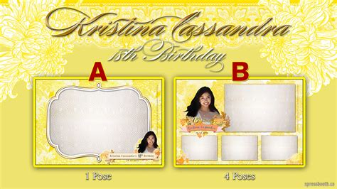 photo booth screen layout design process for photo booth layouts xpressbooth photo