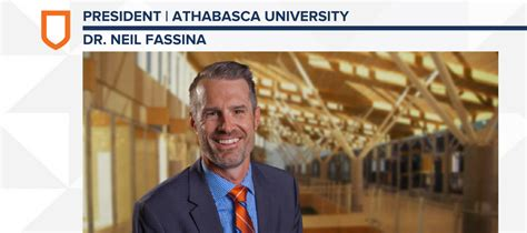 Athabasca Mba Accelerated by Athabasca Welcomes Our Eighth President Au