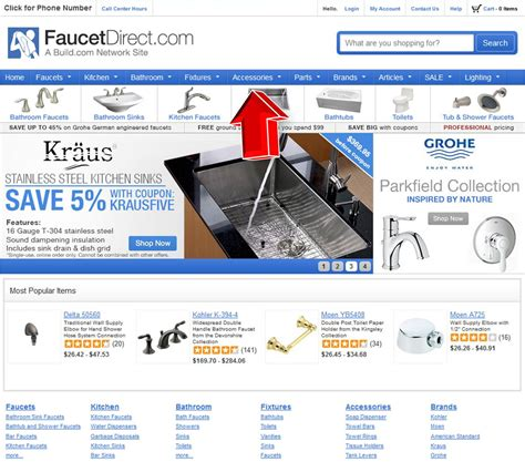 Coupon Code For Faucet by Faucets Direct Coupon