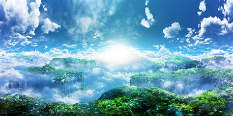 anime landscape android wallpaper 宇宙之神的夢幻美麗世界 宇宙之神的夢幻美麗世界 pinterest cloud landscaping
