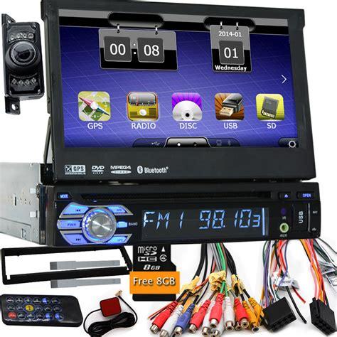 7 quot universal 1 din car audio dvd player radio gps