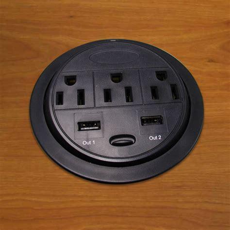 power grommet for desk power tap usb power ethernet desk grommets