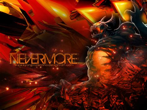 dota 2 nevermore arcana wallpaper nevermore wallpaper wallpapersafari