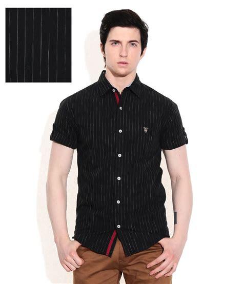 Dress Sisca Fit L Cc 1 mufti black slim fit casual shirt buy mufti black slim