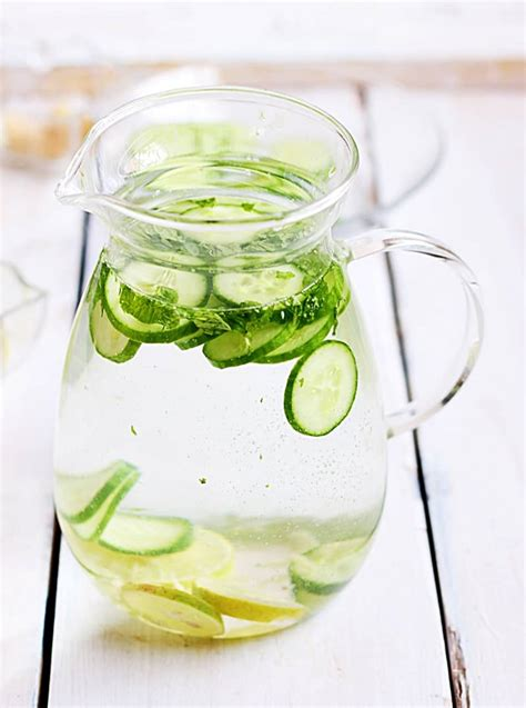 Lemon Garlic Detox Drink by Cucumber Lemon Detox Drink Recipe Detox Drink Recipes