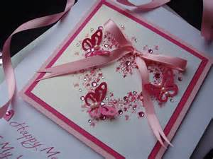luxury mother s day butterfly heart card handmade cards pink posh
