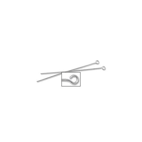 Eye Pin Silver eye pin 2 inch 22 sterling silver how to use