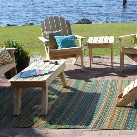 Give An Exotic Look To Your Veranda With Outdoor Rugs For Outdoor Deck Rugs