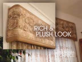 Upholstered Cornice Boards Window Coverings Ideas Top Banana Cornice How To Make A