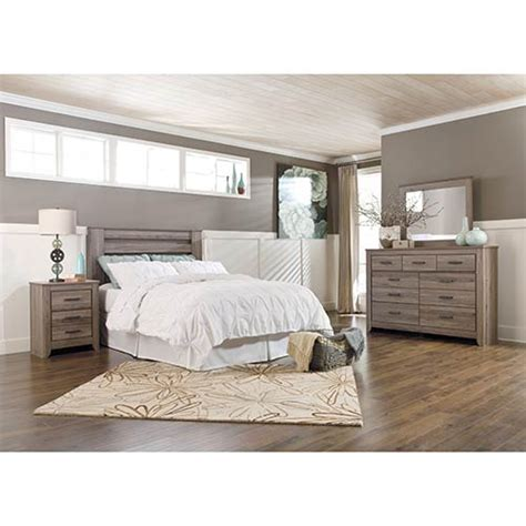 rent a bedroom set rent to own ashley zelen 4 piece queen bedroom set