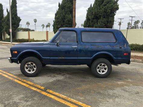 old car manuals online 1997 gmc jimmy transmission control 1971 gmc jimmy k5 blazer rare hugger orange new crate motor rust free ca truck for sale gmc