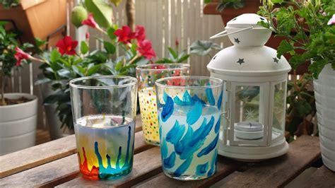 decorar vasos de mayonesa diy decoraci 211 n vasos personalizados c 243 mo pintar